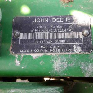 2014 JOHN DEERE 635FD X988048